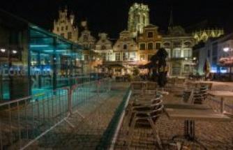 Belgium imposed travel bans in several regions of the EU