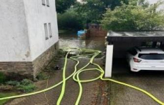 Bergisch Gladbach: Bergisch lake Gladbach: in the garden: Storm use triggers big! Nightmare not over yet