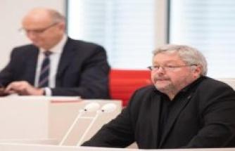 Potsdam/Jänschwalde: Left: Without rapid water introduction Calpenzmoor threatens