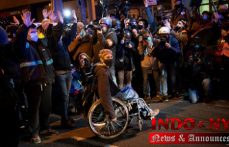 New protests in Spain Within the jailing of rapper's backers