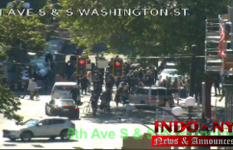 Seattle police Detain at least 4 protesters during downtown march