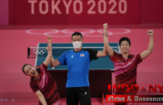 Olympics News: Japan defeats China in table tennis