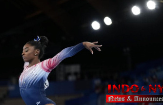 Biles wins bronze in the beam, returns to Olympic competition