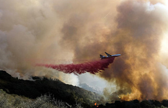 Crews are challenged by shifting winds when fighting California fires