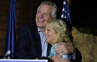 Jill Biden visits Virginia and New Jersey to support Democrats
