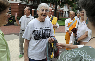 Megan Rice, a peace activist who was imprisoned by Nun, dies at 91