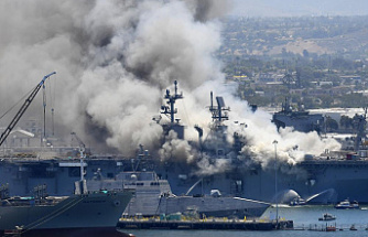Navy probe reveals major flaws in the ship's firefighting efforts