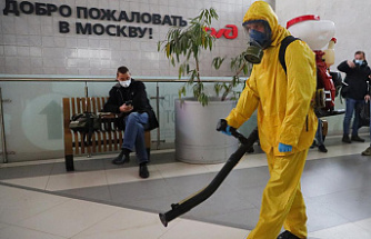 Russia sets a new record for daily deaths from coronavirus