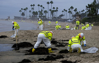 The Harbor Patrol searched but couldn't locate any oil spillage from California.