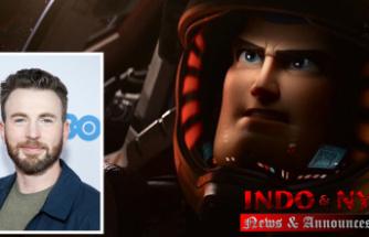 Will Buzz Lightyear stand up?Pixar's teaser features Chris Evans