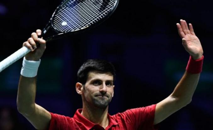 Djokovic sends Serbia ahead in the Davis Cup