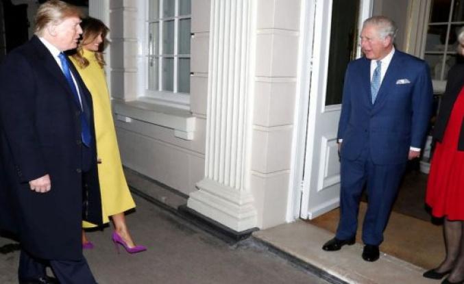 Trump let Prince Charles wait
