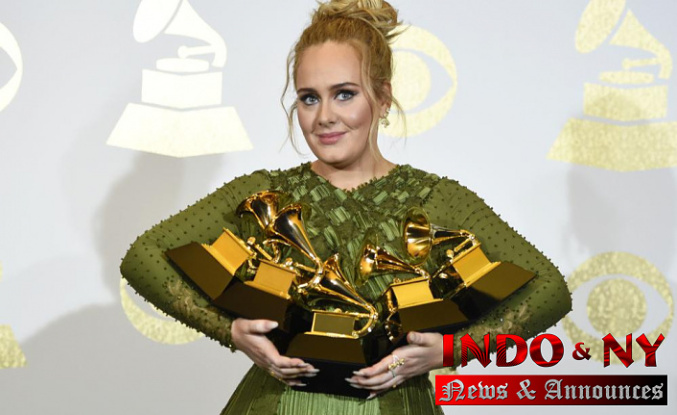 Adele says her new album, '30,′ is being released Nov. 19