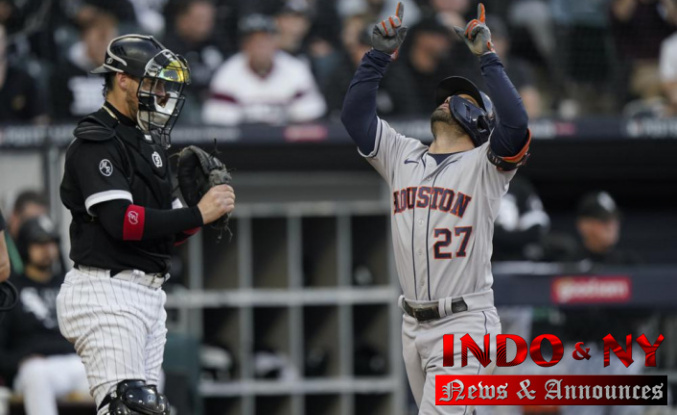 After routing White Sox, Altuve and Astros return to ALCS