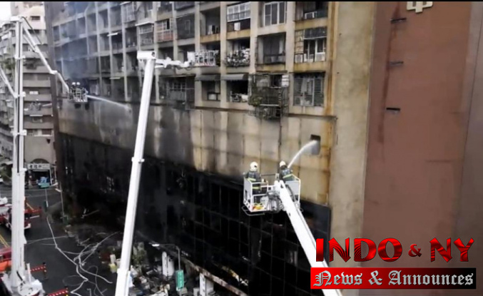 At least 46 people were killed in an apartment building fire in Taiwan
