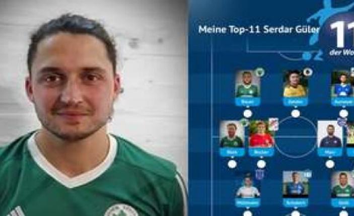 Serdar Güler the Top-11 in his career, to | the district of Erding